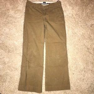 Gap corduroy wide leg khaki pants regular
